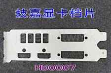 1PC OEM    I/O Shield for GTX750Ti GV-N750 & HD0007