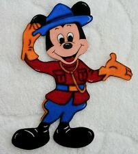 DISNEY EPCOT SHOWCASE CANADA Mickey - Printed Scrapbook Page Paper Piece SSFFDeb