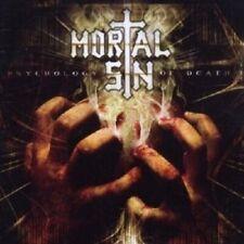 "MORTAL SIN ""PSYCHOLOGY OF DEATH"" 2 CD NEW!"