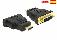 Conector DVI Hembra a HDMI Macho Adaptador DVI a HDMI Macho a Hembra