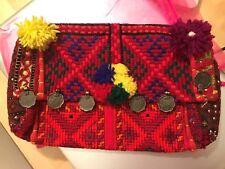 Pochette ricamata etnica folk ethnic folk embroidered clutch