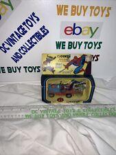 Vintage CORGI Spiderman Spiderbuggy & Green Goblin MIB Mint in Box 261 Mettoy
