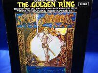 @DECCA SXL 6421 NB *SOLTI* THE GOLDEN RING* VIENNA PHILHARMONIC* w BOOKLET