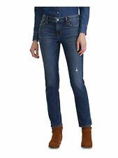 Cross Jeans Jeans Femmes Lauren Bootcut Stretch Denim Pantalon Bleu Dark Blue Used