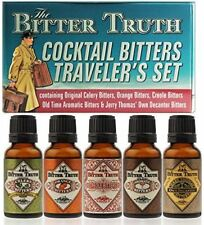 The Bitter Truth Cocktail Bitters Traveler`s Set