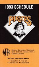 1993 PITTSBURGH PIRATES POCKET SCHEDULE