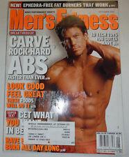 Men's Fitness Magazine Rock Hard Abs & Foods That Do It September 2003 030615R