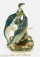 "Andrew Bill ""Gaia"" Dragon Figurine 2007 Annual Piece Retired."