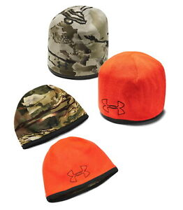 Under Armour Men's UA Reversible Camo Beanie Hunting Hat - 1343194 - New 2021