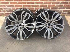 "4 x Range Rover Sport L494 21"" Style 15 507 5007 BLACK GENUINE OEM Alloy Wheel"