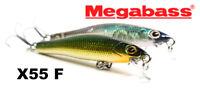 Megabass X-55 F fishing lures original range of colors