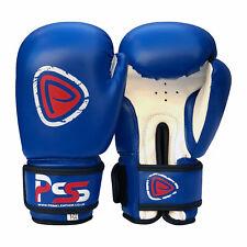 Kids Boxing Gloves Punch Bag Junior Mitts Punching Sports Gloves Blue Bg-1007