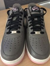 NIKE AIR FORCE 1 FLEUR DE LIS Size 9 Sneakers AF-1 82 LOW Pink Gray 2007 ~New