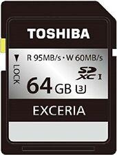 Toshiba Sdxc card 64Gb Uhs-I U3-compatible (maximum read speed of 95Mb / s maxim