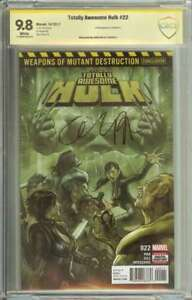 TOTALLY AWESOME HULK #22 CBCS 9.8 WHITE PAGES