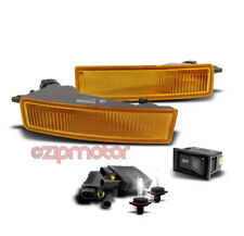 03-07 SCION XB BUMPER DRIVING SMOKE FOG LIGHT LAMP+6000K HID KIT+SWITCH 04 05 06