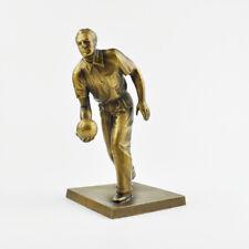 """Kegler - Figur - Pokal - Kegeln - Trophy - """"Bronze"""" - Kegelspieler - Statue"""