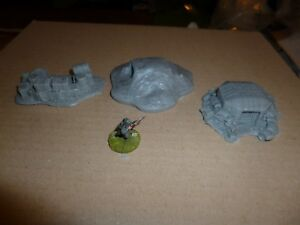 Field Defences/Supplies 20mm (1/72nd) Scale resin Cast new