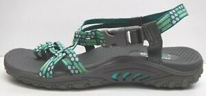 Skechers Size 6 Green Sandals New Womens Shoes