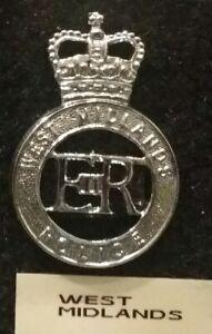West Midlands Police Badge England & German Hessen State Police Badge   OLD