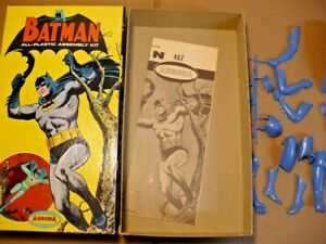 Original 1964 Aurora Batman Model Kit #467 Rare