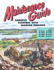 Caterpillar Maintenance Guide 1952  D311 to D353