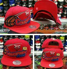 Mitchell & Ness Red Chicago Bulls NBA Champions 1996  snapback