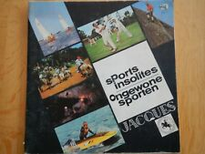 Album Chromos: JACQUES (Super Chocolat): sports insolites COMPLET