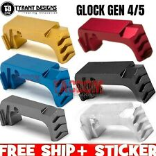Tyrant Designs Extended Magazine Billet Aluminum Release for Glock Gen 4 / 5 Mag