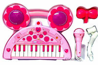 Kids Children Electronic Organ Music Song Keyboard Movable Microphone Toy Piano