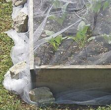 Insektenschutz Netz für Gemüsebeete Schutznetz weiß 5x2m