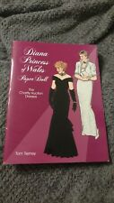 Diana Princess of Wales Paper Dolls Book UNCUT Tom Tierney Charity Auction Dress
