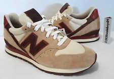 New Balance Men's Horween Leather Shoes, M996DCB, Tan/Khaki/Brown, US Size 10