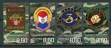 Croatia 2019 MNH War of Independence Guards Brigades 4v Set Military Stamps