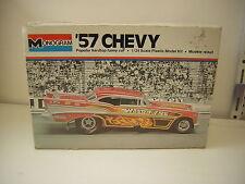 1/24 Chevy 57 Funny Car Chevrolet bel air 1957 Dragster   Monogram 1975