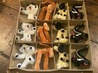 Vintage Japan Box 12 Chenille Pipe Cleaner Animals Cats Dogs Elephants Skunks
