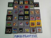NINTENDO GAMEBOY & GAMEBOY COLOR GAMES MANY TO CHOOSE FROM !!!