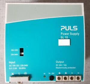 Puls SL 10 Hutschienen-Netzteil 24V/10A