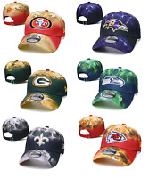 New Era 2020 NFL Teams Marbled Team Tie Dye Adjustable 9TWENTY Sideline Hat Cap