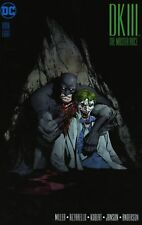 BATMAN DARK KNIGHT DK III/3 THE MASTER RACE #8  VARIANT GREG CAPULLO JOKER COVER