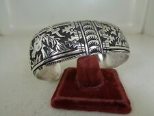 Large Horse Bracelet By Richard Singer .925 Sterling - Will fit a 8 inch Wrist