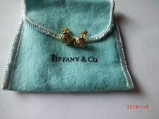 Genuine Vintage Tiffany & Co. 1/3ct Diamond Love Knot Earrings 18k Gold