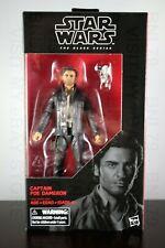 "CAPTAIN POE DAMERON Star Wars BLACK SERIES 6"" inch Action Figure #53 Last Jedi"