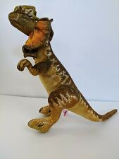 "1992 Dakin Jurassic Park Yellow Dilophosaurus Dinosaur 22"" Stuffed Plush"