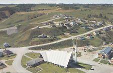 Vue Panoramique Église St-Marc BAGOTVILLE Quebec Canada Postcard