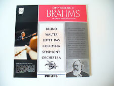 Brahms symphony nr 2 Bruno Walter Columbia Symphony Orchestra LP VINILE (18)