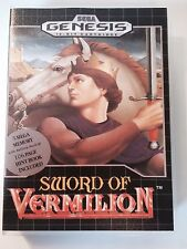 Sword of Vermilion - Sega Genesis - Replacement Case - No Game