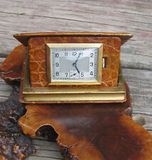 Vintage Rare Swiss made Livre D'Heures Book-form TRAVEL WATCH from the YR 1929