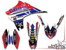 Yamaha Factory racing DECOR Kit yz yzf wrf 125 250 450 autocollant sticker Décalques