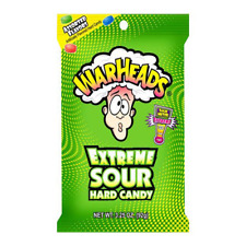 Warheads Extreme Sour Hard Candy, 3.25 oz
